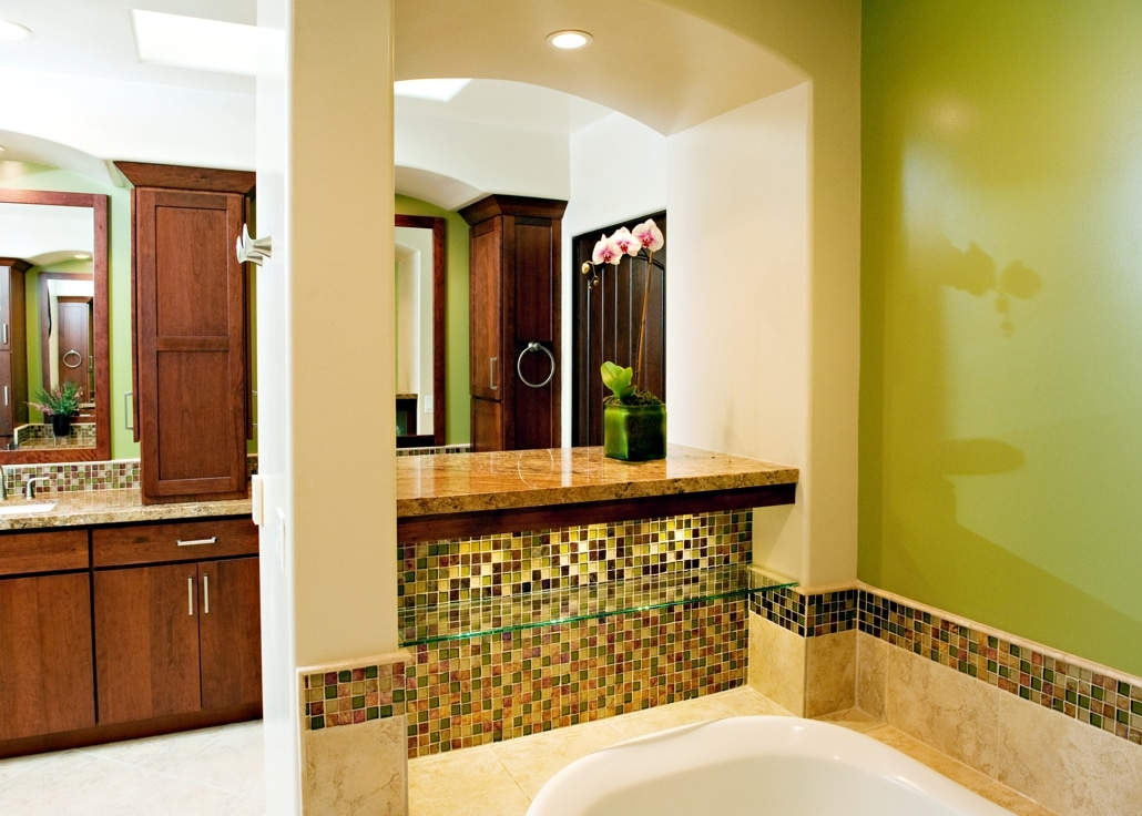 spa retreat bathroom remodel