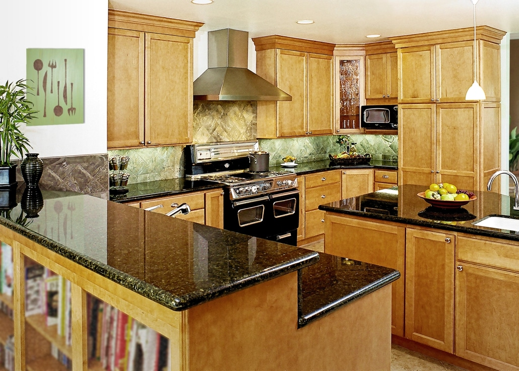 transitional kitchen gallery