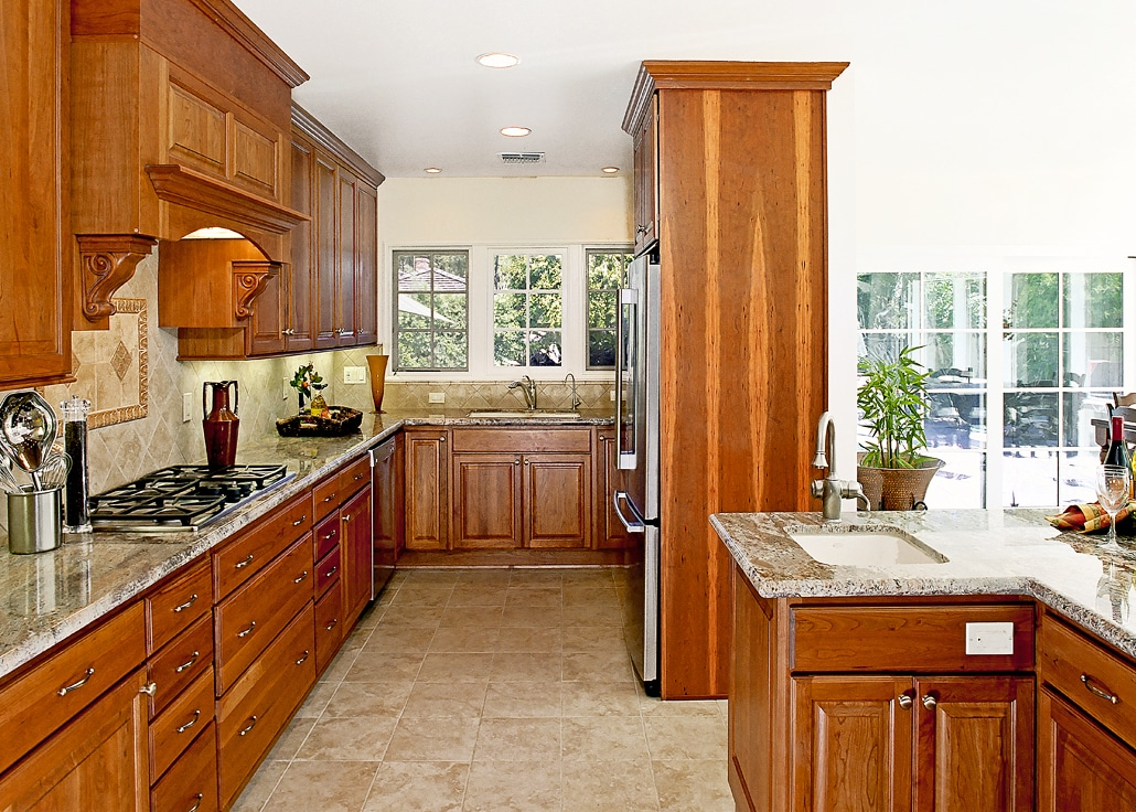 traditional kitchen gallery