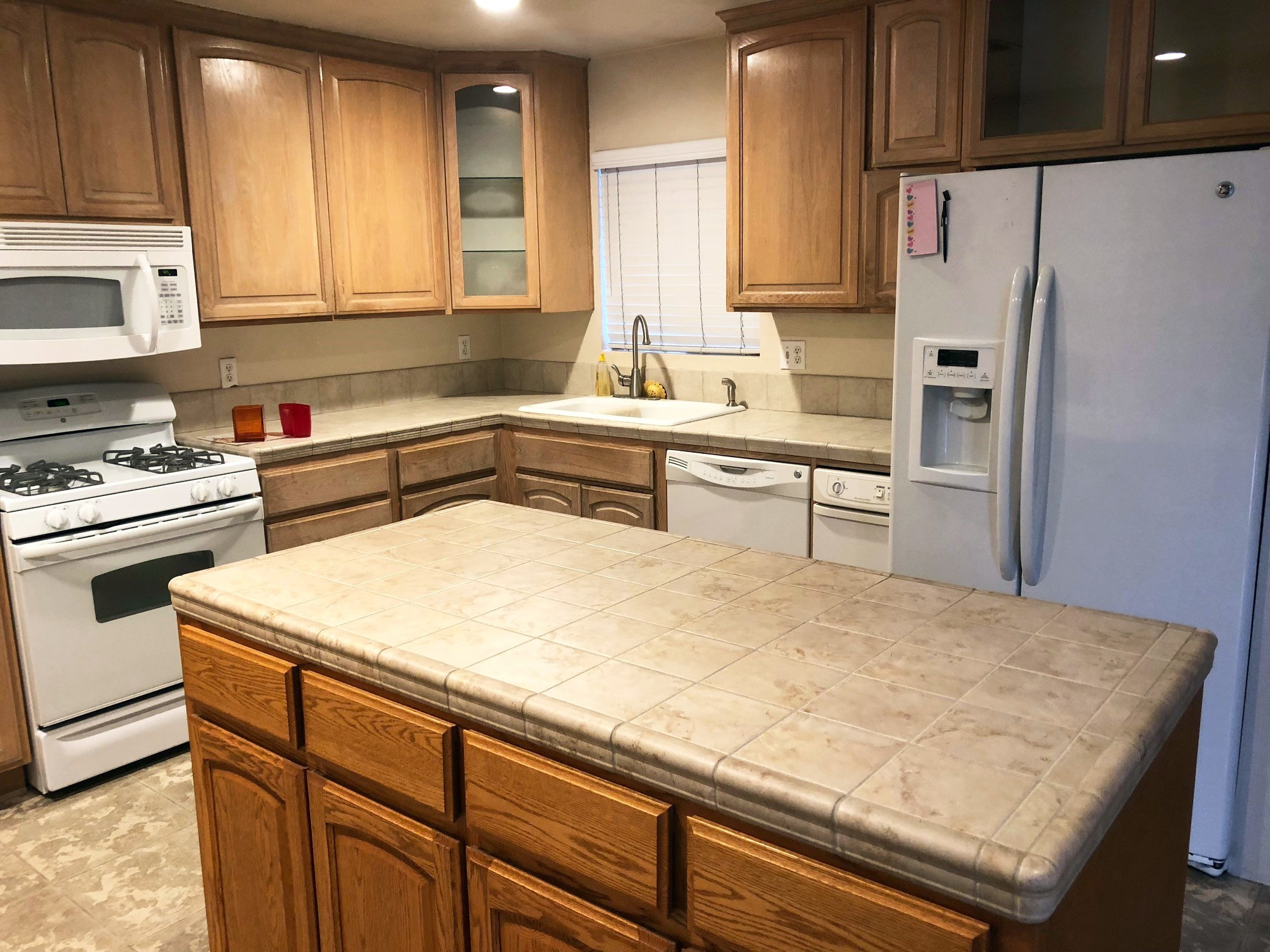 rustic comforts kitchen